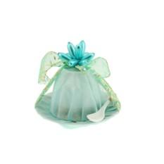 Подарочная упаковка Бирюзовый цветок