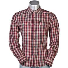 Мужские рубашки классические шелковые в клетку джинсовые. мужские клетчатые...