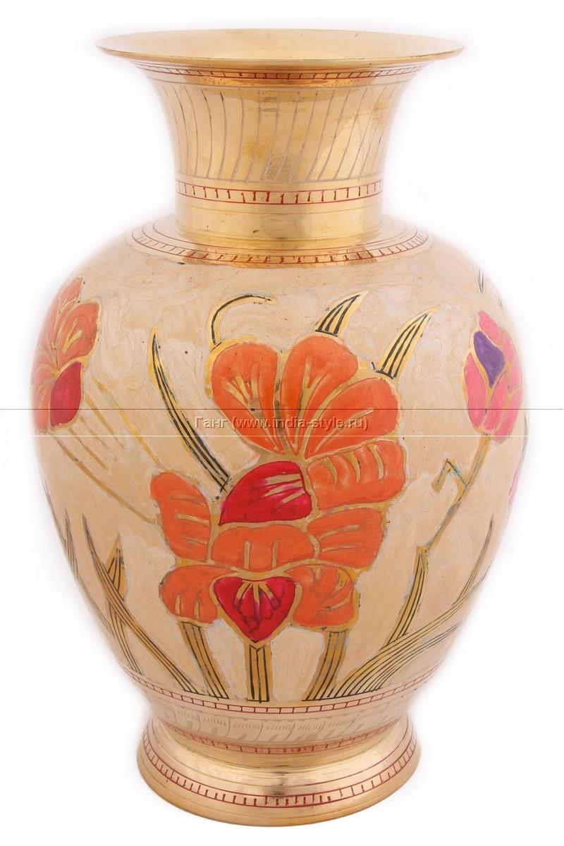 Декоративная ваза Цветы