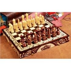 Резные шахматы Русь