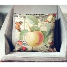 Декоративная наволочка Винтаж: Спелое яблоко