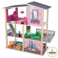 Домик для мини-кукол Стильный коттедж