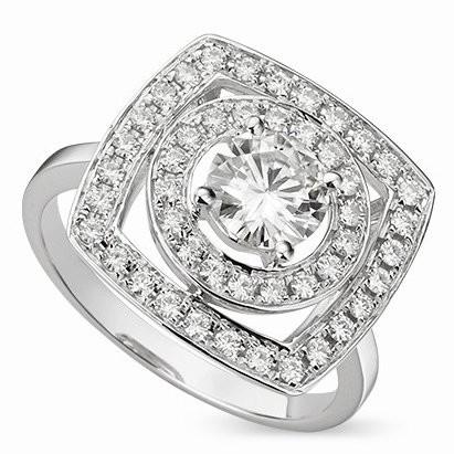 Дизайнерское кольцо  Heloise