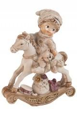 Фигурка Ребенок на лошадке