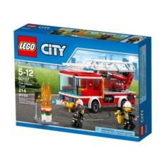 Конструктор Lego City Пожарный автомобиль с лестницей