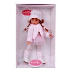 Кукла-девочка Рыжая Эльвира. Осенний образ
