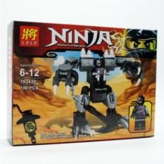 Конструктор Lele Ninja, 100 деталей