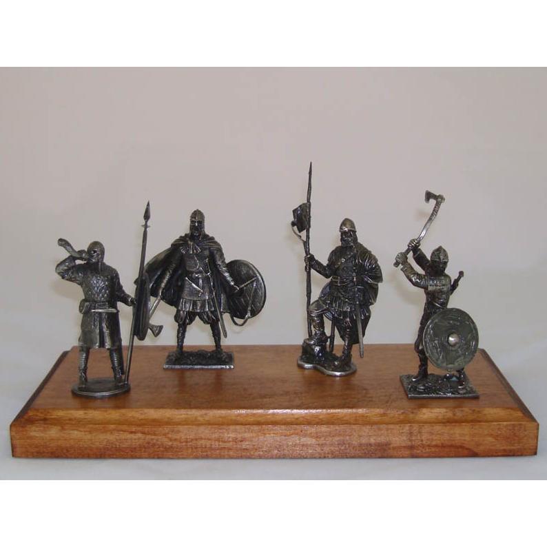 Набор оловянных солдатиков Варвары