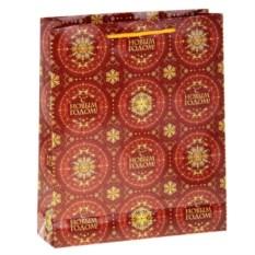 Подарочный пакет С Новым годом (31х40 см)