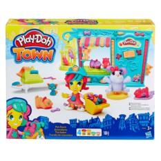 Игровой набор Play-Doh Hasbro Магазинчик домашних питомцев