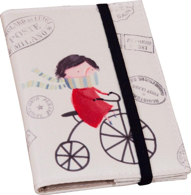 Обложка для паспорта Велосипедист