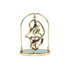 Декоративная композиция с кристаллами Сваровски Сердце
