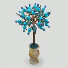 Дерево из бирюзы Бирюзовый подарок