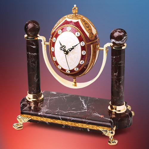 Часы-шкатулка В честь Фаберже