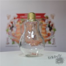 Декоративная бутылка Лампочка