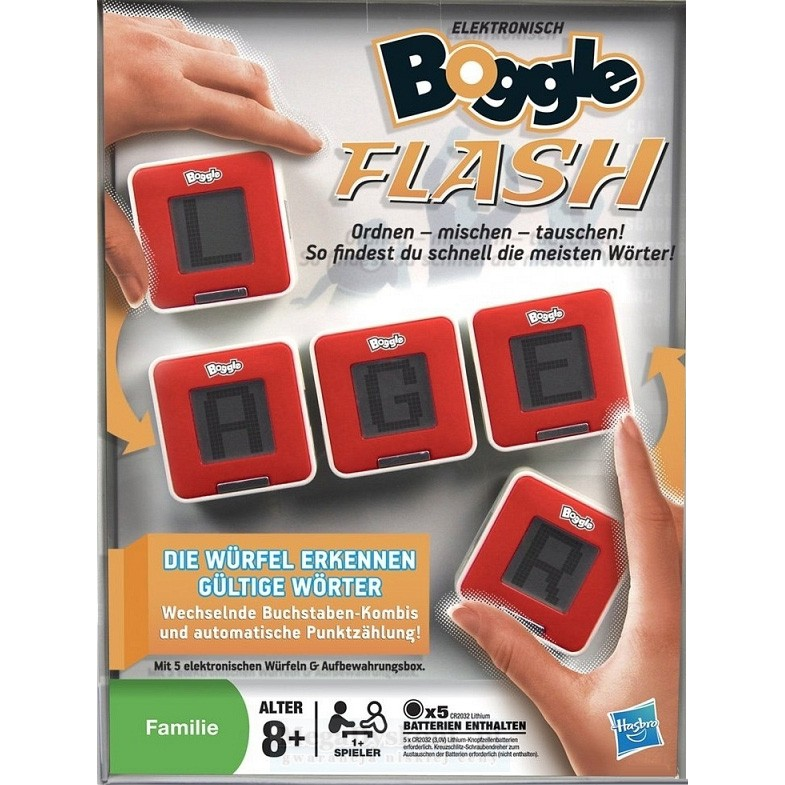 Настольная игра Hasbro Boggle Flash Other Games
