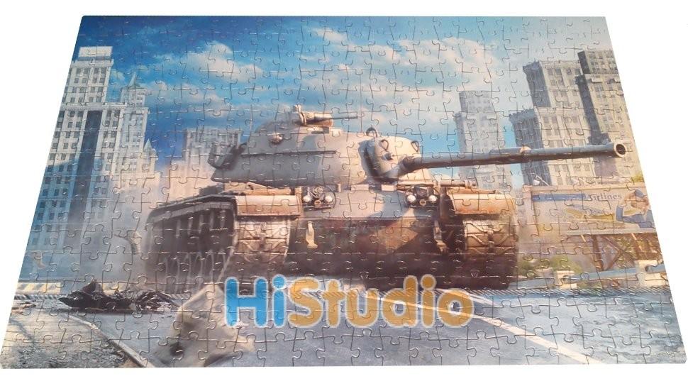 Пазл World of tanks