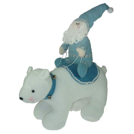 Сувенир «Медведь и Дед Мороз»
