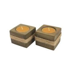 Набор подсвечников «С медовым ароматом»