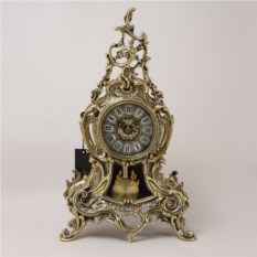 Каминные часы Луиш XV с маятником