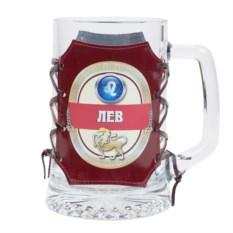 Кружка для пива Знак зодиака – Лев
