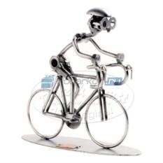 Статуэтка из металла Велогонщик