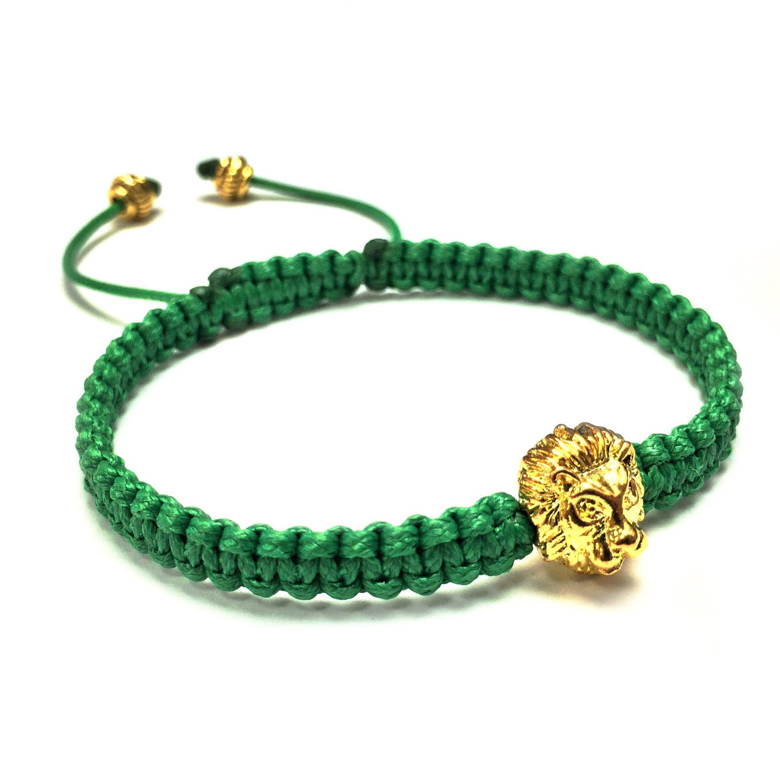 Браслет Shamballa «Золотой Лев»