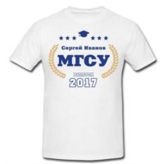Именная футболка Выпускник института