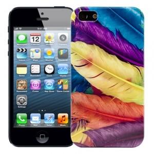 Чехол для iPhone 5/5s Swan feathers