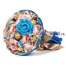 Букет конфет Снежинка (25x30 см)