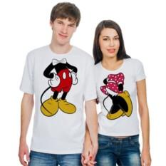 Парные футболки Микки Маус и Минни