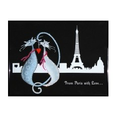 Картина Swarovski Из Парижа с любовью
