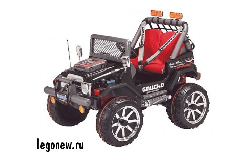 Электромобиль Gaucho Superpower (Peg-Perego)