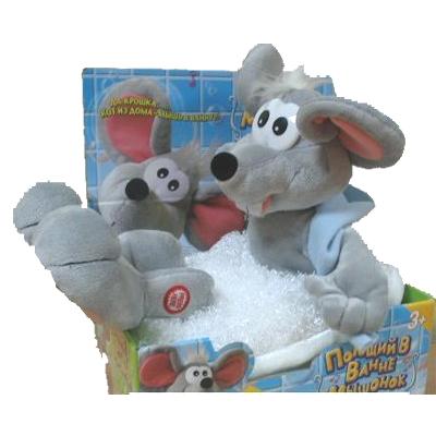 Мышонок в ванной с 3 лет