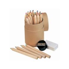 Подарочный набор из 24 цветных карандашей