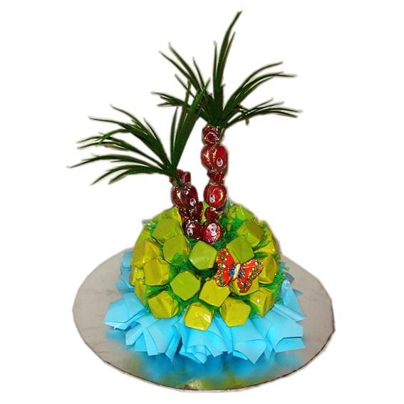 Букет из конфет «Остров»