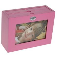 Архивный фотоальбом Розовый на 48 фото