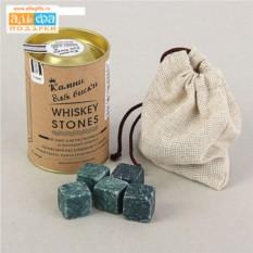 Набор камней для виски в тубусе
