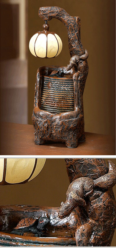 Декоративный фонтан «Белочки»