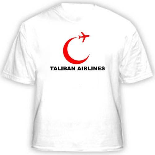 Футболка Taliban airlines