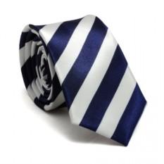 Узкий галстук (полосатый)
