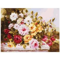 Картина по номерам «Чудесный букет»