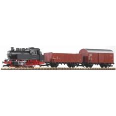 Стартовый набор PIKO 37120  Грузовой поезд (со звуком и дымогенератором)