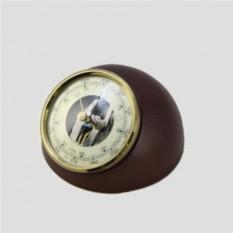 Настольный барометр. Цвет — махагон