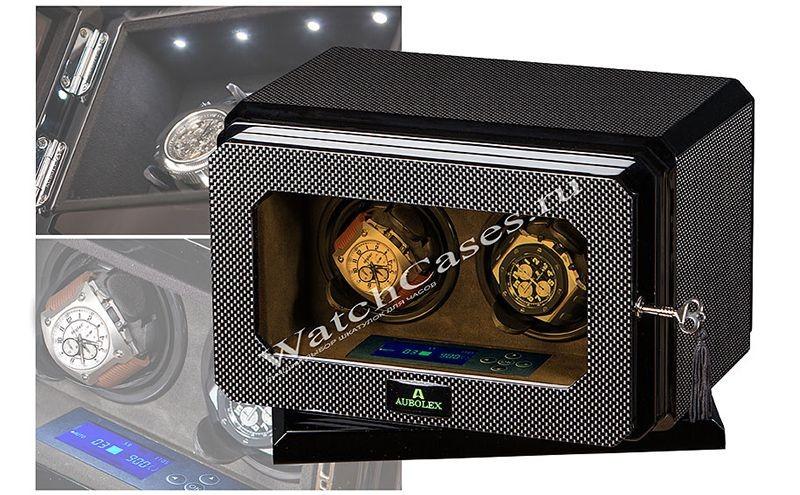 Шкатулка для хранения и подзавода часов Aubolex