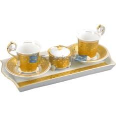 Чайный сервиз на 2 персоны Rudolf Kampf Царское время