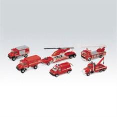 Игровой набор машин Пожарная служба 6 шт. Welly
