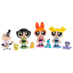 Минифигурка героев сериала Powerpuff Girls от Spin Master