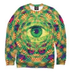 Свитшот с глазом Psychedelic