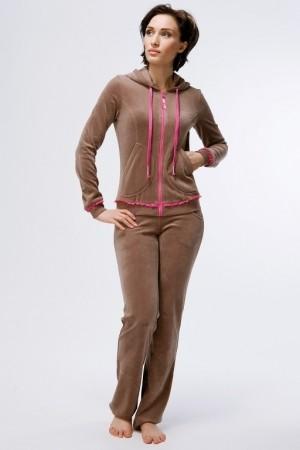 Женский домашний велюровый костюм Nic Club Valentine